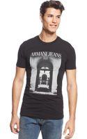 Armani Jeans House T-shirt - Lyst