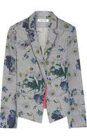 Elizabeth And James Bourne Floral Print Cotton Blazer - Lyst