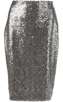 Philipp Plein Sequin Skirt - Lyst