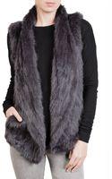 June Fur Vest - Lyst