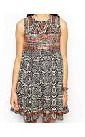 Asos Festival Dress with Mirror Embroidery - Lyst