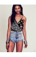 Free People Mix Print Crop - Lyst