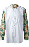 Comme Des Garçons Printed Shirt - Lyst