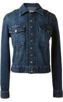Current/Elliott Denim Jacket - Lyst