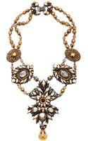 Erickson Beamon Golden Rule Necklace - Lyst