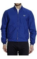 Fred Perry Down Jacket Bomber Nylon - Lyst
