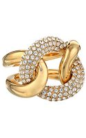 Michael Kors Pave Curb Link Ring - Lyst