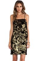 Anna Sui Village Burnout Mini Dress - Lyst