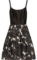 Oscar De La Renta For The Outnet Silktwill and Woolblend Jacquard Dress - Lyst