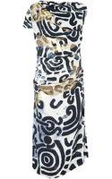 Vivienne Westwood Anglomania Shaman Print Dress - Lyst