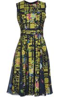 Erdem Kneelength Dress - Lyst
