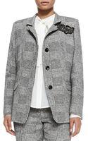 Marina Rinaldi Canazei St Tweed Menswear Jacket - Lyst