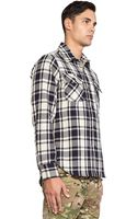 Mark Mcnairy New Amsterdam Overshirt Button Down - Lyst