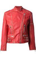 Christopher Kane Biker Jacket - Lyst
