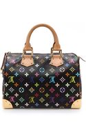 What Goes Around Comes Around Vintage Louis Vuitton Multi Monogram Speedy Bag Multi - Lyst