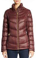 Calvin Klein Packable Down Coat - Lyst