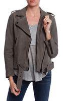 Current/Elliott Prospect Leather Jacket - Lyst