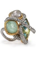 Alexis Bittar Multistone Encrusted Vine Ring - Lyst