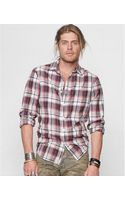 Denim & Supply Ralph Lauren Benham Madras Plaid Shirt - Lyst
