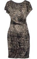 Max Mara Short Dress - Lyst