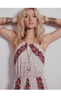 Free People Shadow Play High Neck Dress - Lyst