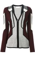 Peter Pilotto Geometric Cardigan - Lyst