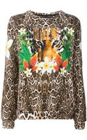 Philipp Plein Jungle Rule Printed Sweatshirt - Lyst