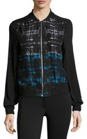 Dex Abstract-print Front-zip Jacket - Lyst