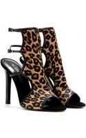 Tamara Mellon Trouble Maker Calfhair Sandals - Lyst