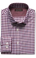 Banana Republic Tailored Slim Fit Non Iron Red Plaid Shirt  School Red - Lyst