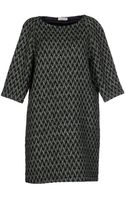 Roberto Collina Short Dress - Lyst