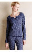 Eloise Thermal Sleep Shirt - Lyst