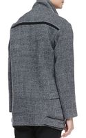 Iro Bailey Herringbone Coat - Lyst