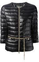 Herno Belted Padded Jacket - Lyst