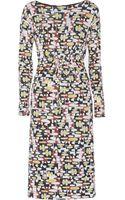 M Missoni Printed Stretchjersey Dress - Lyst
