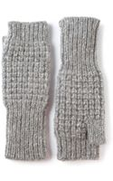 Duffy Knitted Fingerless Mittens - Lyst