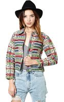 Nasty Gal Only Star Jacket - Lyst