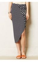 Anthropologie Draped Jersey Pencil Skirt - Lyst