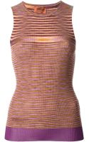 Missoni Crochet Knit Tank Top - Lyst
