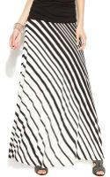Inc International Concepts Striped Maxi Skirt - Lyst
