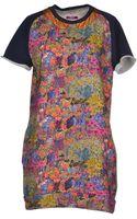 M. Grifoni Denim Short Dress - Lyst