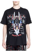 Givenchy Deconstructed Car Graphic Tee Black - Lyst