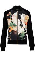 Ted Baker Lyndsy Opulent Bloom Bomber Jacket - Lyst
