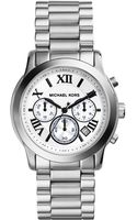 Michael Kors Midsize Cooper Silver Color Stainless Steel Chronograph Watch - Lyst