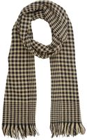 Colombo Houndstooth Scarf - Lyst