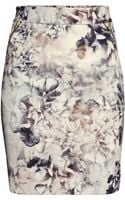 H&M Patterned Skirt - Lyst