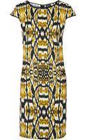 Just Cavalli Printed Shell Dress - Lyst