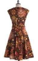 ModCloth High Noon Harvest Dress - Lyst