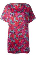 Andrea Incontri Floral Print Dress - Lyst