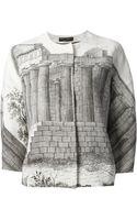 Dolce & Gabbana Printed Blouse - Lyst